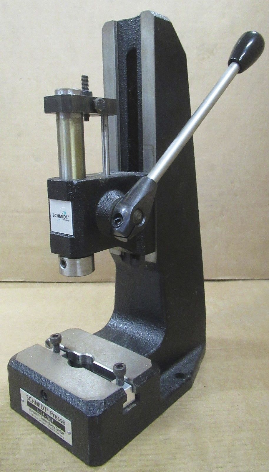 Rack And Pinion >> Schmidt 5-02-2007 Rack And Pinion Manual Hand Press Work Top Bench